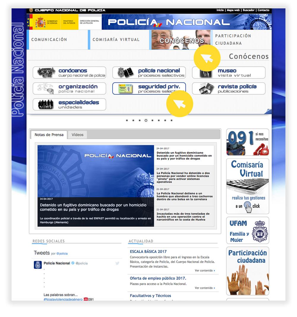¡CONVOCADAS Y ABIERTO EL PLAZO DE PRESENTACIÓN DE INSTANCIAS DE 3201 PLAZAS POLICÍA NACIONAL!