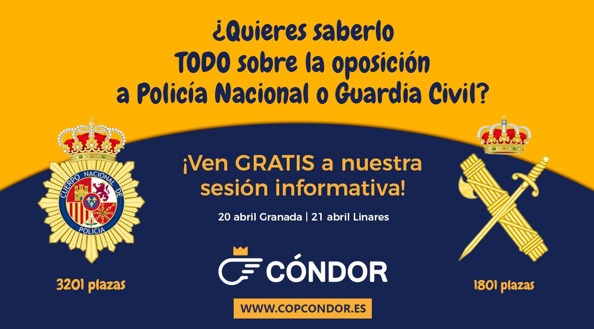 ¿Quieres Saberlo Todo Sobre La Oposición A Policía Nacional Y Guardia Civil? ¡No Te Pierdas Nuestra Sesión Informativa!