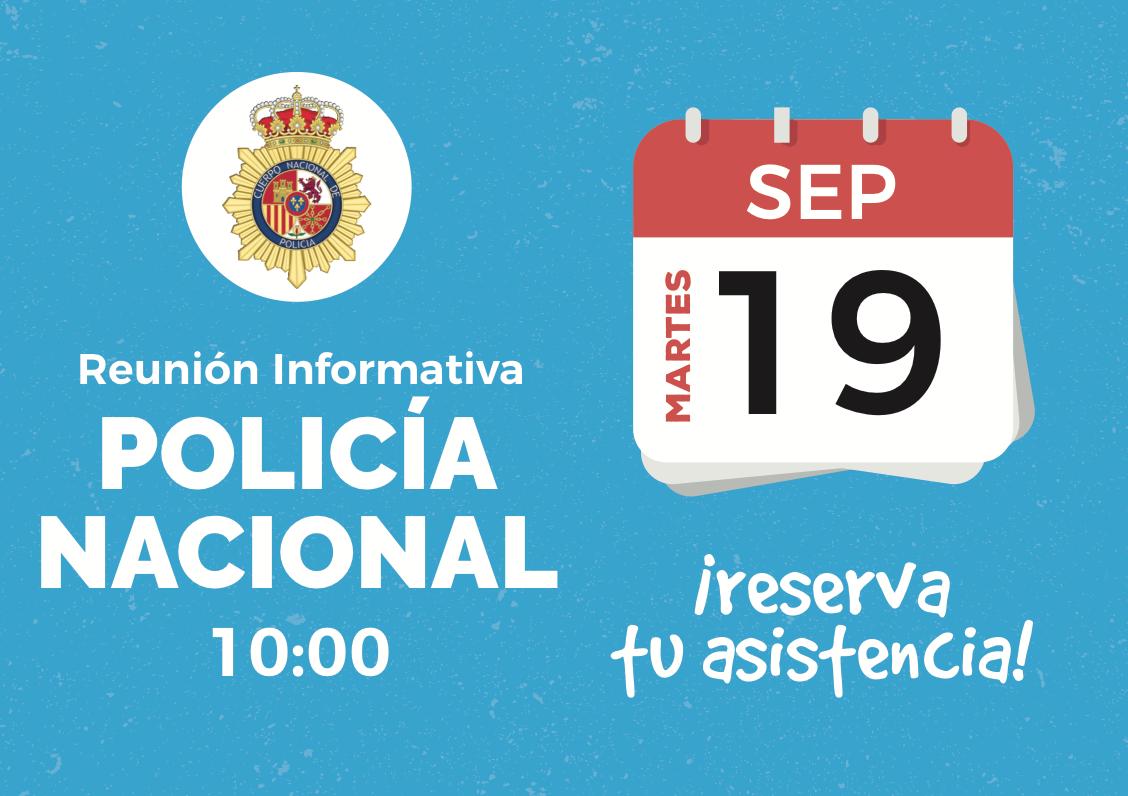 ¡Reunión Informativa Policía Nacional!