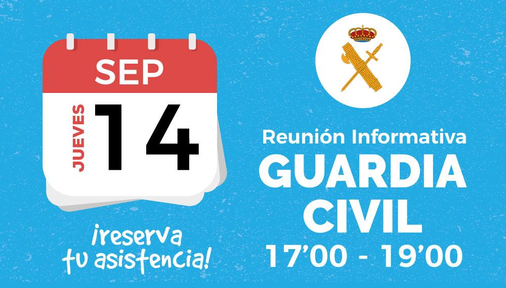 ¡Te Invitamos A Nuestra Reunión Informativa De Guardia Civil!