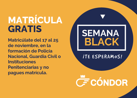 ¡Matrícula Gratis! La Semana Black, Se Amplia A Todo El Mes De Diciembre, A Qué Esperas!!