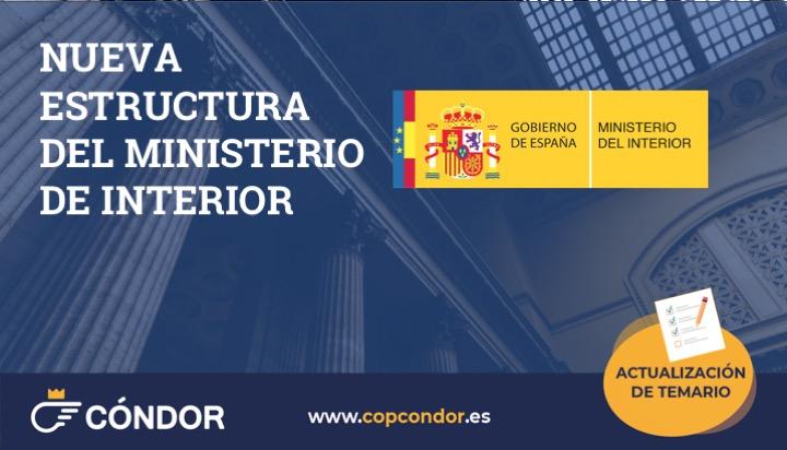 Nueva Estructura Del Ministerio Del Interior Copcondor